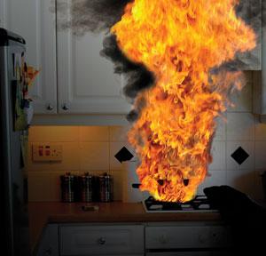 A tűzvédelem egy fontos része: a tűz terjedése